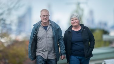 Russell and Michele Elsdon are pushing for a system that requires mandatory reporting to VicRoads by doctors who determine a person with an injury or illness may not be fit to drive.