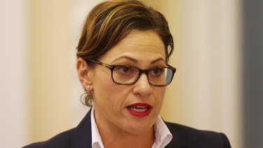 Queensland's deputy premier says she's open to the idea of a nuclear waste site being set up in the state.