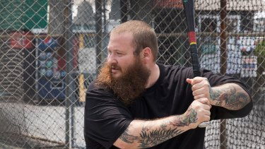 Action Bronson, host of the Viceland series F--k That's Delicious.