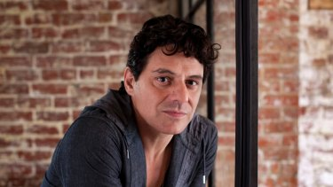 Wrong side of the law: Actor and part-time builder Vince Colosimo.