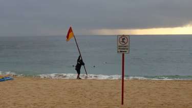 Coogee Beach has been re-opened after a sewage leak.