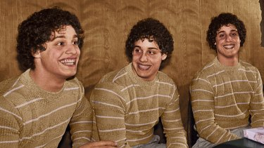 The triplets at the centre of Three Identical Strangers.