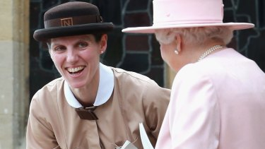 Just a spoon full of sugar: Prince George and Princess Charlotte's nanny Maria Teresa Turrion Borrallo.