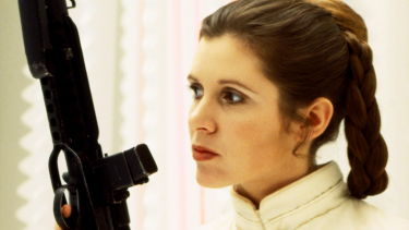 Leia isn't after a hero, because she already is one.