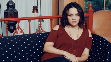 Norah Jones at home in New York.   Unusually for a star today, there is little public information about her private life.