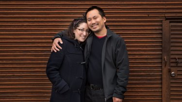 Isabelle Oderberg and Geoff Ho.