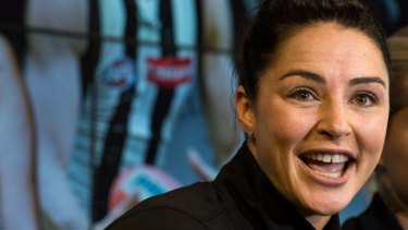 Switch: Sharni Layton will play for Collingwood next year.