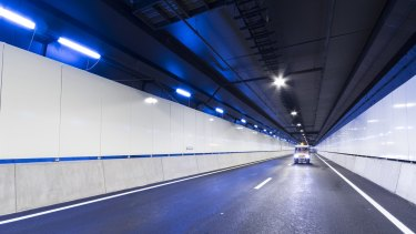 There will be a walk-through of the Legacy Way tunnel on May 31.
