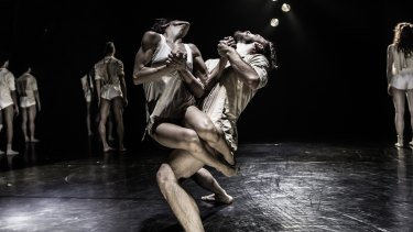 Kibbutz Contemporary Dance Company's <i>Horses in the Sky</i> – there seems scarcely time to breathe for both dancers and audience.