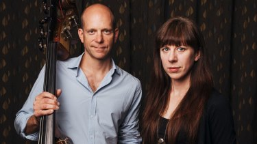 Max Bibeau with composer Missy Mazzoli.