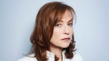 Isabelle Huppert says acting is ''a little like drinking alcohol''.