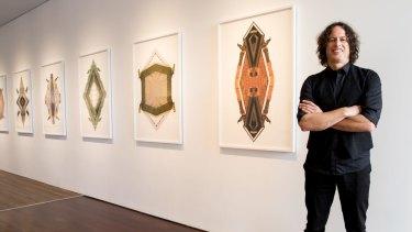 Barkindji artist Kent Morris examines Australia's first people.