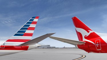 The deal between Qantas and American Airlines would have tied up about 60 per cent of Australia-US traffic.