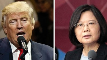 Donald Trump has been flirting with the idea of closer relations with Taiwan since taking a congratulatory phone call from President Tsai Ing-wen on December 4.