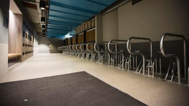 The building will have space for 230 bicycles.
