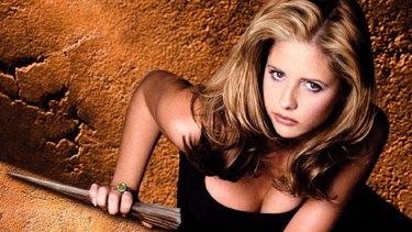 Sarah Michelle Gellar in <i>Buffy the Vampire Slayer</i>.