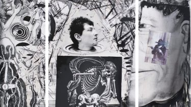<i>A History of the White World</i> by Joel-Peter Witkin (detail).