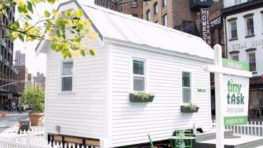 A tiny TaskRabbit house.