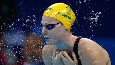 Hacked: Cate Campbell's confidential medical records were released by hackers.