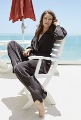 """""""What I found so fascinating was the stuffiness of Parliament."""" Anna Torv wears a Zimmermann jumpsuit."""