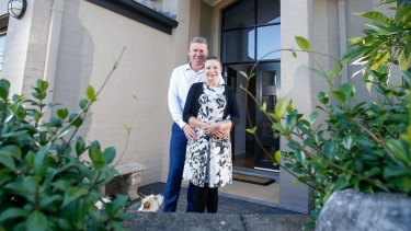 Shell Cove residents Graeme and Kim Perry were on a 12-month intro deal of 3.59 per cent with a smaller lender and the rate reverted to 3.99 per cent.