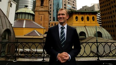 """""""Change is inevitable"""": The new NSW Minister for Planning, Rob Stokes."""