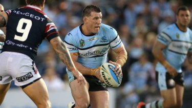 Set to stay: Paul Gallen has reportedly agreed to a new deal to stay with Cronulla.