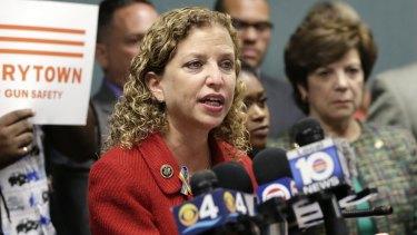 Gain from disorder: Former DNC chair Congresswoman Debbie Wasserman Schultz