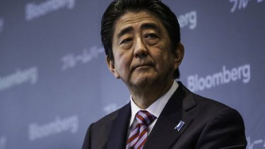 Shinzo Abe, Japan's prime minister, will ease regulations to allow for self-driving cars to be tested on public roads.