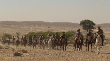 Australian Light Horse Association riders in action.