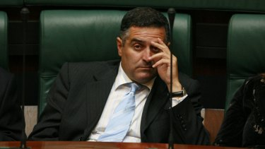 Question time: Speaker Telmo Languiller has agreed to repay about $40,000 he had claimed for living in Queenscliff while representing Tarneit.