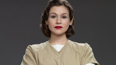 Australian actor Yael Stone plays Lorna Morello in Netflix's popular series, <i>Orange is the New Black</i>. Season four launches June 17.