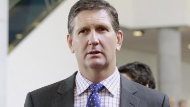 LNP leader Lawrence Springborg.