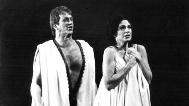 Even women who are allowed speech in antiquity, such as the virtuous Lucretia (played here by Margaret Russell in a 1981 Australian Opera production), are strictly limited in what they may say.