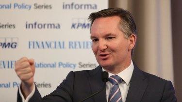 Labor's Shadow Treasurer Chris Bowen.