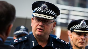 Victoria Police Chief Commissioner Graham Ashton.