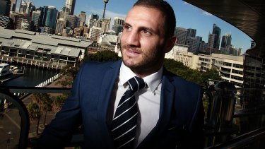 Robbie Farah is motivated to do his best for NSW in this year's State of Origin series.