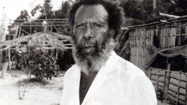 Eddie Mabo on his home island.