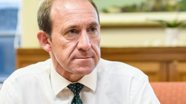 Andrew Little, outgoing leader of the New Zealand Labour Party.