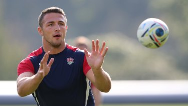 'I think a lot of people outside the England camp had an agenda against me': Sam Burgess.