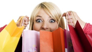 Me too: Be careful you don't come back from Christmas shopping with more gifts for yourself than anyone else.