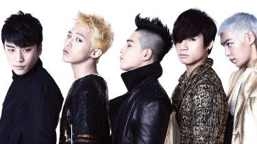 K-pop band: Big Bang