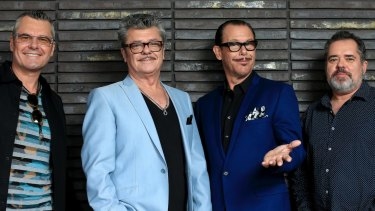 Inxs band members, Jon Farris, Tim Farris, Kirk Pengilly and Andrew Farris have publicly distanced themselves from the documentary.