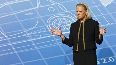 IBM CEO Virginia Rometty.