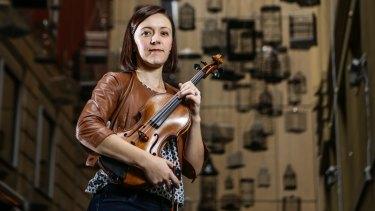 Violinist Lerida Delbridge compiled a one-hour playlist for Sydney Symphony Orchestra.