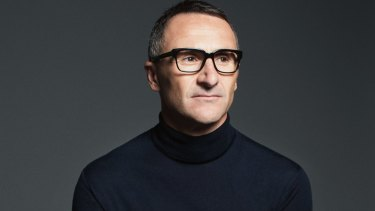 Greens leader Richard Di Natale in a photo shoot for GQ magazine.