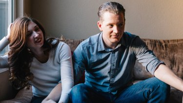 """Gemma Hartley and her husband Rob: """"I know compared to many women, I have it easy."""""""