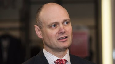 Myer chief Richard Umbers: Missing the old targets, he's set new ones.