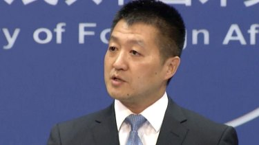 "Lu Kang, spokesman of the Chinese Ministry of Foreign Affairs, said the Turnbull government minister's comments were ""full of ignorance and prejudice""."