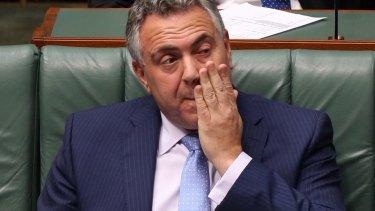 Treasurer Joe Hockey: failed to discuss long-term unemployment.